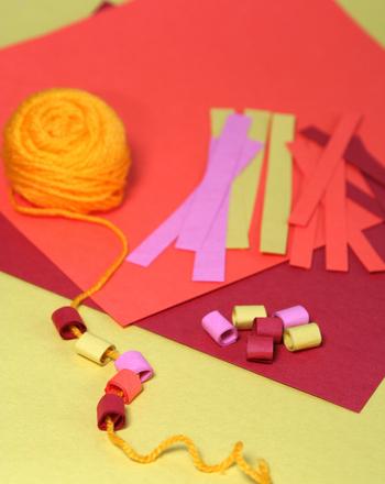 Preschool Arts & crafts Activities: Homemade Beads: 3 Ways