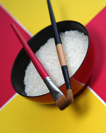 Preschool Arts & crafts Activities: Make Rice Pictures