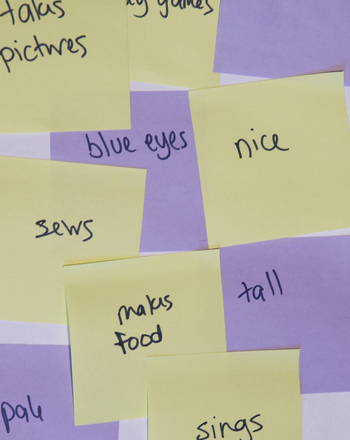 Third Grade Reading & Writing Activities: Sticky Note Project