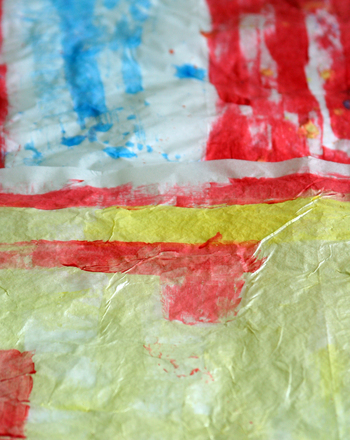 First Grade Holidays & Seasons Activities: Make Your Own Watercolor Wrapping Paper