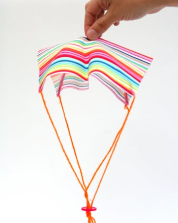 Kindergarten Arts & Crafts Activities: Make a Parachute Toy