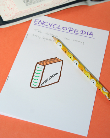 Fourth Grade Reading & Writing Activities: Make an Illustrated Vocabulary Book!