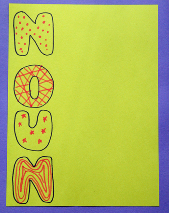 Second Grade Reading & Writing Activities: Write Parts of Speech Acrostic Poetry!