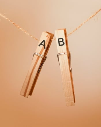 Kindergarten Reading & Writing Activities: Create a Clothespin Alphabet