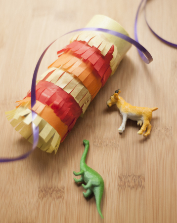 First Grade Holidays & Seasons Activities: Mini Piñata Craft