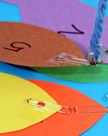 Preschool Math Activities: Play the Fish for Numbers Game!