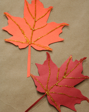 Kindergarten Seasons Activities: Make Harvest Gift Bag Clips
