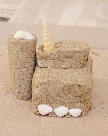 Kindergarten Arts & Crafts Activities: Make a Sandcastle You Can Keep!