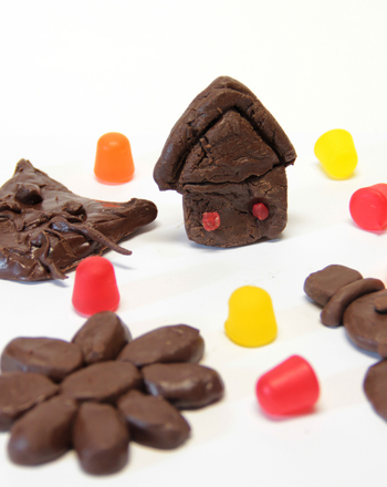 Kindergarten Arts & crafts Activities: Make Chocolate Clay