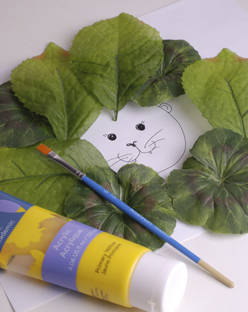 Preschool Arts Amp Crafts Activities Leaf Lion Craft