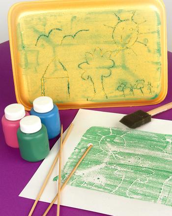 Third Grade Arts & crafts Activities: Make Block Prints... Like Rembrandt