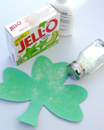 Preschool Holidays Activities: Scented Shamrock