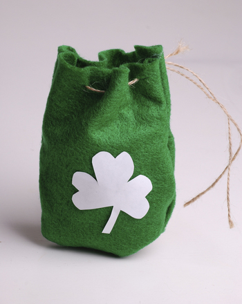 Fourth Grade Holidays & Seasons Activities: Make a Magic Leprechaun Pouch