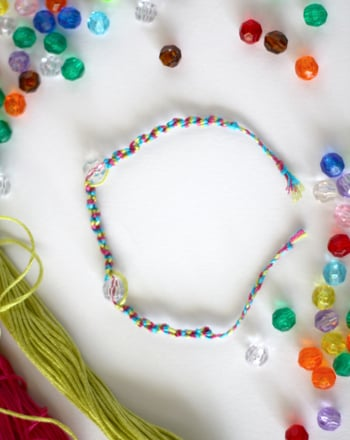 Third Grade Arts & Crafts Activities: Make a Friendship Bracelet