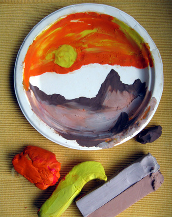 Third Grade Science Activities: Clay Landscape