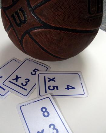 Third Grade Math Activities: Shooting Hoops Multiplication