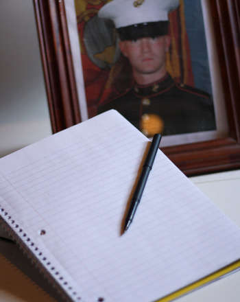 Become a penpal to a soldier