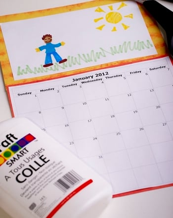 Second Grade Holidays & Seasons Activities: Make a Back to School Calendar