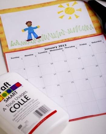 Second Grade Seasons Activities: Make a Back to School Calendar