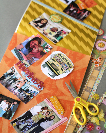 "Third Grade Holidays & Seasons Activities: Create a ""Back to School"" Scrapbook"