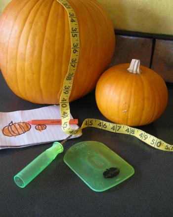 Preschool Science Activities: Pumpkin Math