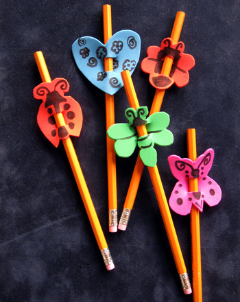 First Grade Holidays & Seasons Activities: Pencil Topper Craft