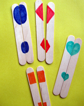 Preschool Math Activities: Making Shapes