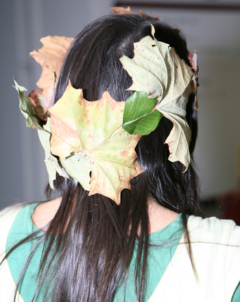 Preschool Seasons Activities:  Leaf Crown