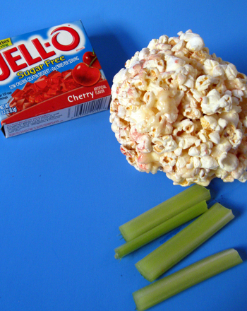 Preschool Arts & crafts Activities: Popcorn Sculpture