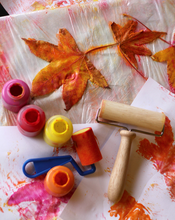 Preschool Holidays & Seasons Activities: Fall Leaf Patterns