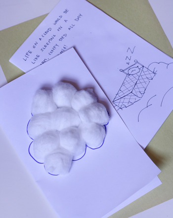 Second Grade Reading & Writing Activities: Imagine Life on a Cloud