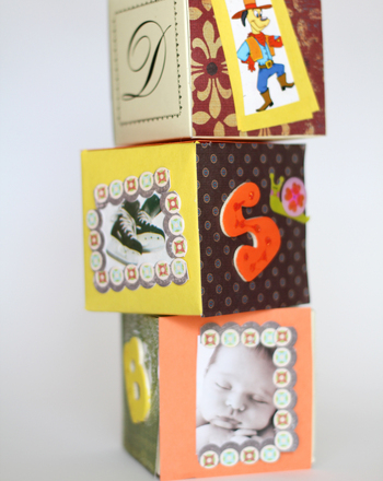 Preschool Reading & Writing Activities: Make Alphabet Blocks