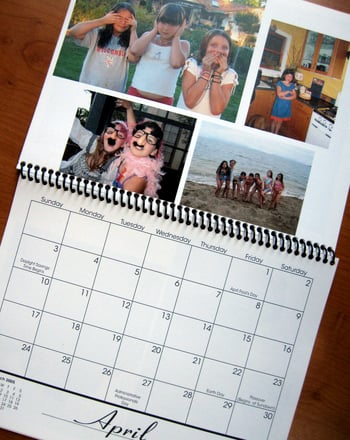 Second Grade Holidays & Seasons Activities: Family Photo Calendar