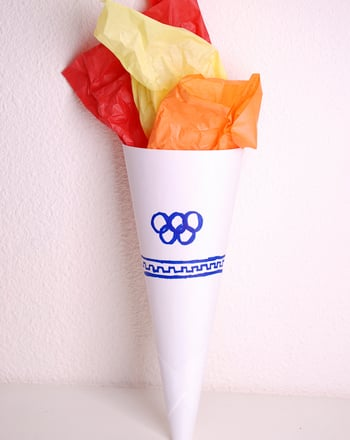 First Grade Arts & Crafts Activities: Make an Olympic Torch
