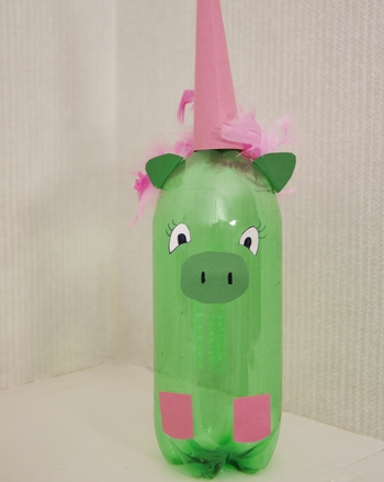 Third Grade Arts & crafts Activities: Plastic Bottle Animals