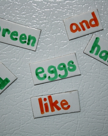 First Grade Reading & Writing Activities: Make a Story with Magnetic Words