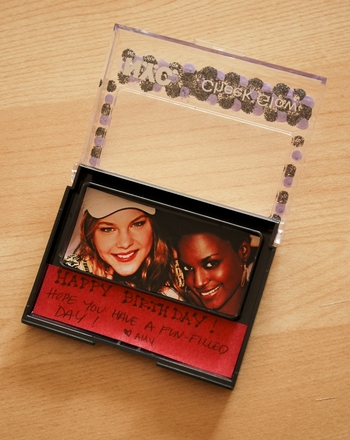 Middle School Arts & Crafts Activities: Cosmetic Compact Greeting Card