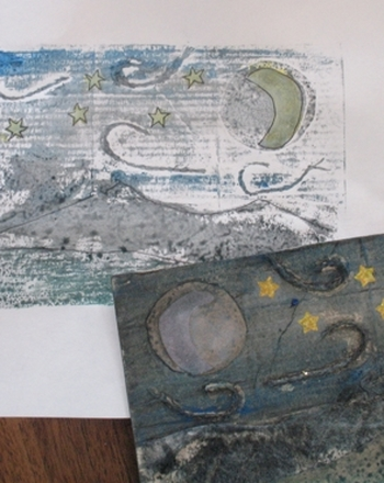 Middle School Arts & Crafts Activities: Create a Collagraph