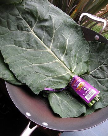 High School Recipes Activities: Collard Greens Recipe
