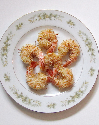 Fourth Grade Recipes Activities: Gluten Free Coconut Shrimp
