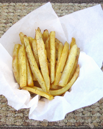 Fifth Grade Seasons Activities: Sweet Potato Fries Recipe