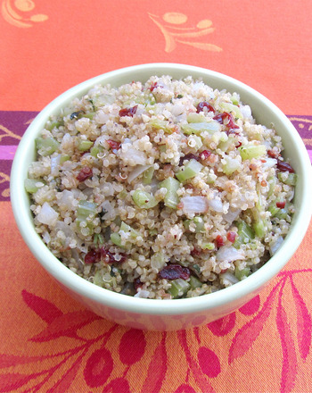 Fifth Grade Holidays & Seasons Activities: Make Quinoa Stuffing with Dried Cherries