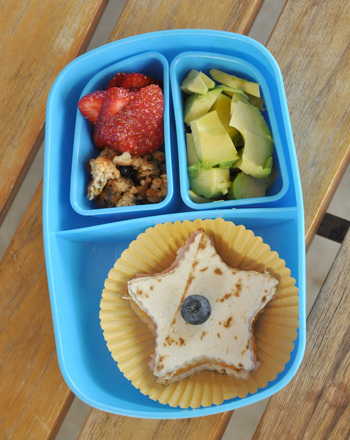 Second Grade Recipes Activities: Bento Box Lunch