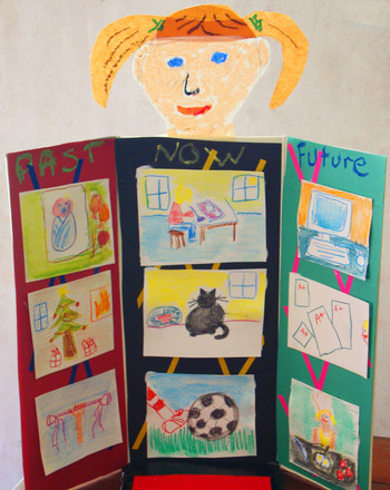 Second Grade Arts & Crafts Activities: Shoebox Story