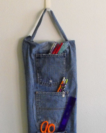 middle school arts u0026amp crafts activities make denim wall pockets