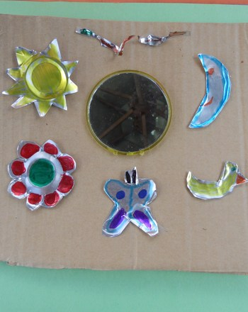 Fifth Grade Arts & crafts Activities: Mexican Tin Mirror