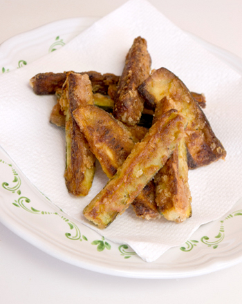 Fifth Grade Recipes Activities: Baked Zucchini Fries