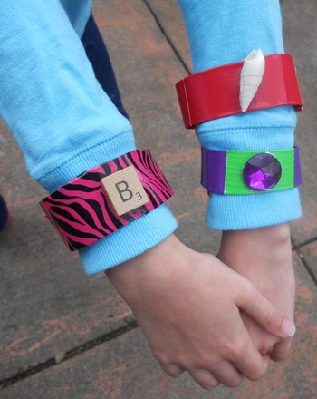 Third Grade Arts & Crafts Activities: Duct Tape Bracelets