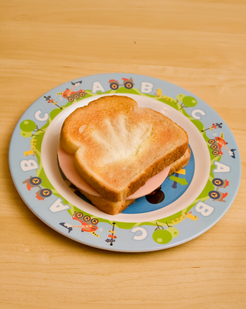 Kindergarten Recipes Activities: Handprint Sandwich