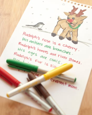 Fourth Grade Reading & Writing Activities: Make Rudolph-Themed Metaphors